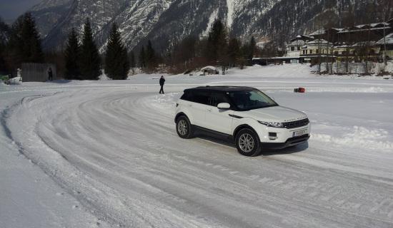 JAGUAR LAND ROVER<br>ICE EXPERIENCE<br>Saalfelden/Österreich