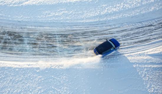 JAGUAR LAND ROVER<br>ICE EXPERIENCE<br>ARJEPLOG/SCHWEDEN