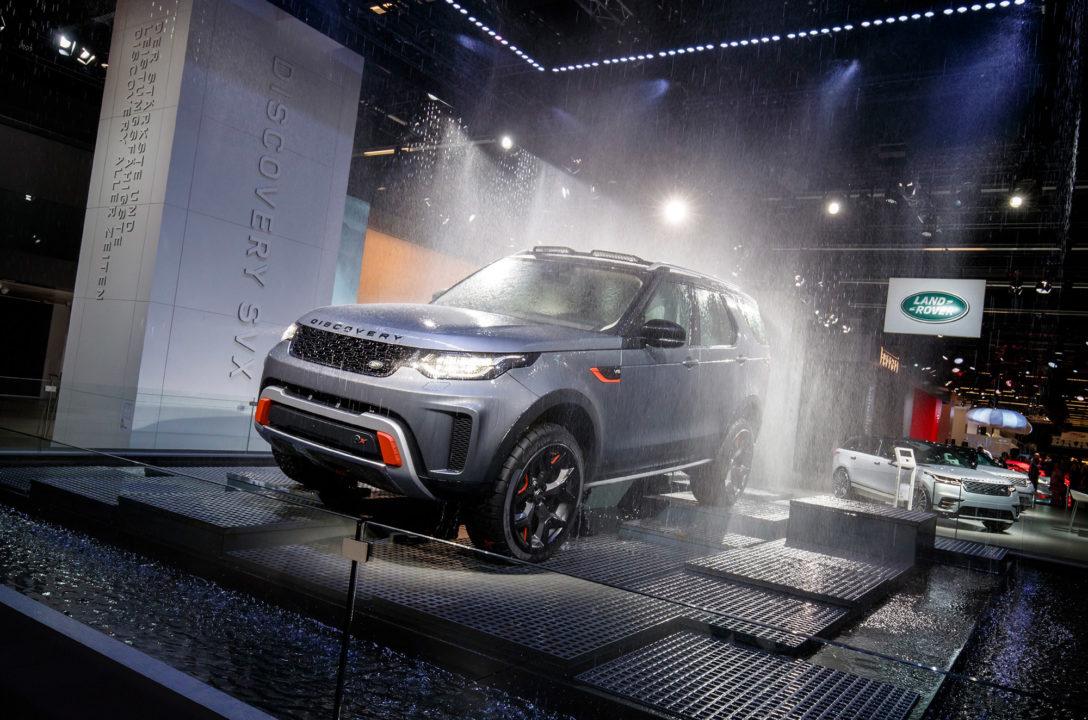 Land Rover auf Messen und Ausstellungen