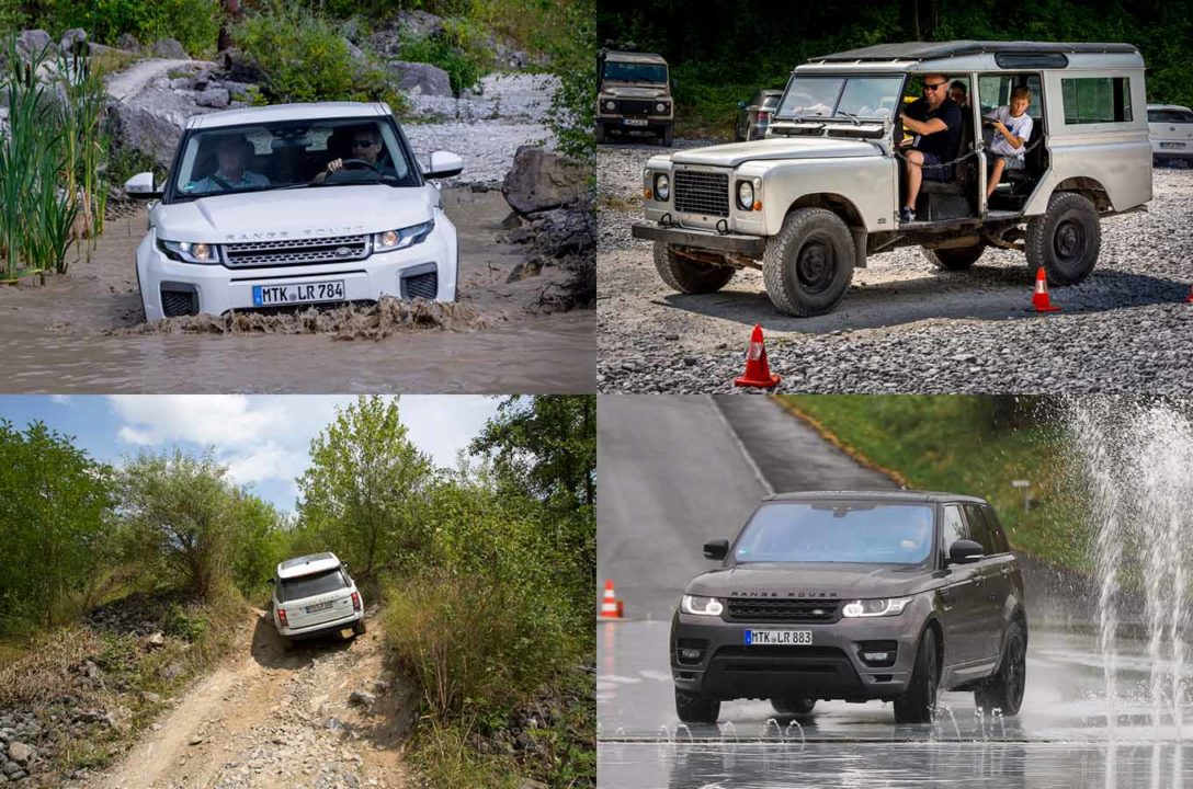 Land Rover Experience Drives