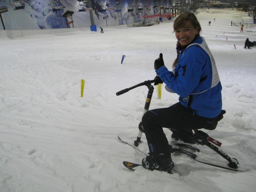 Startschuss für den Slalom