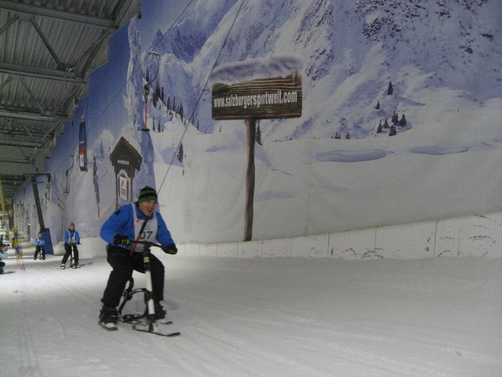 Die besondere Herausforderung: Der Skilift