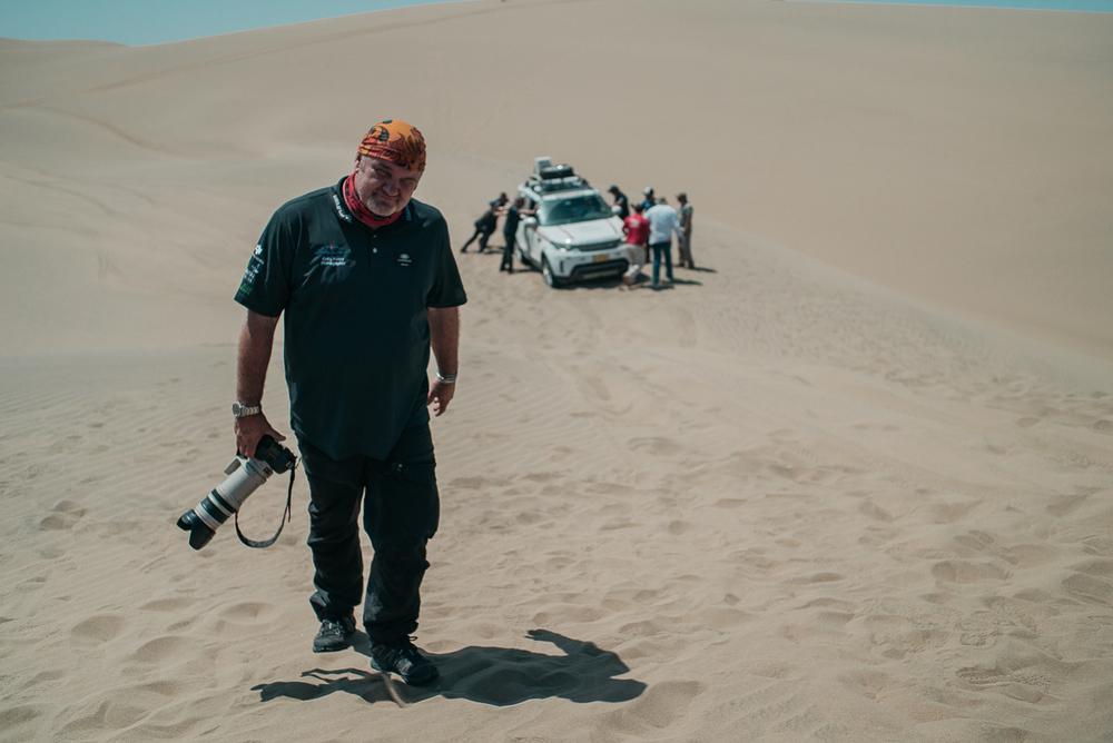 Craig, schon seit mehreren LETs als Fotograf dabei!