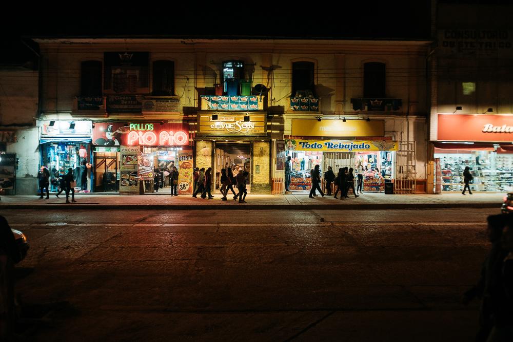 Nachtstadt.