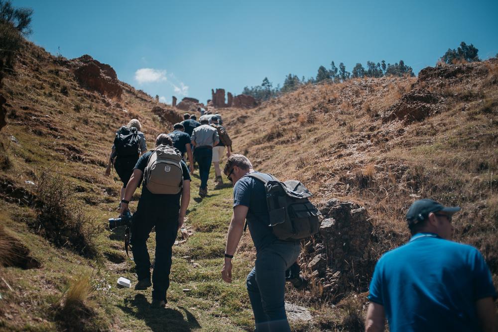Von 3300 auf 3500 Meter kann schon mal richtig anstrengend sein.