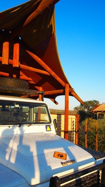 Kalahari Tent Camp, Fotografie Sabine Lueder