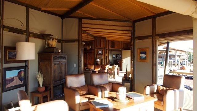 Luxuriöse Unterkunft im NamibRand Nature Reserve © Foto Sabine Lueder