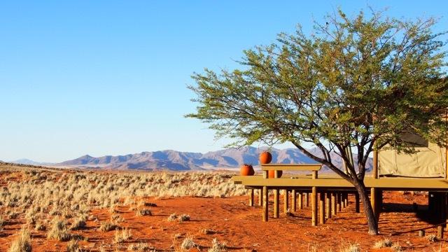 Wolwedans Dunes Lodge, NamibRand Nature Reserve © Foto Sabine Lueder