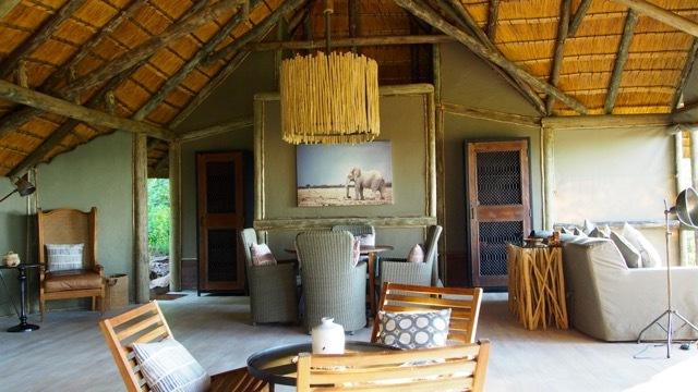 Luxus-Safari Ghoha Hills Savuti Lodge Botswana, Foto Sabine Lueder