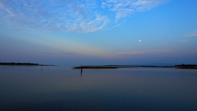 Vollmondnächte auf dem Lake Kariba Simbabwe, Foto Sabine Lueder