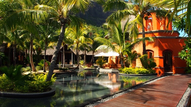 Hotel Dinarobin Mauritius, Foto Sabine Lueder